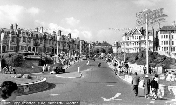 Photo of Boscombe, Sea Road c1960