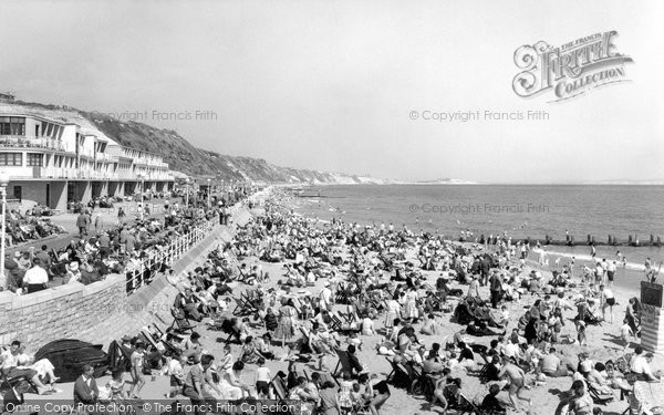 Boscombe, The Beach c.1960