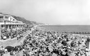Boscombe, The Beach c.1960