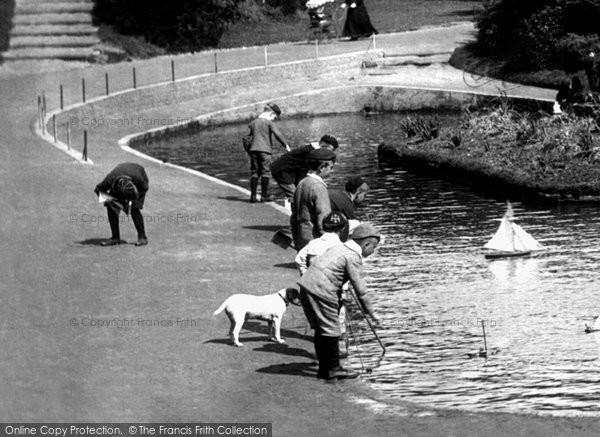 Boscombe, The Boating Lake 1903