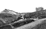 Boscombe, The Chine Hotel c.1875