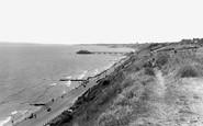 Boscombe, The Cliffs c.1960
