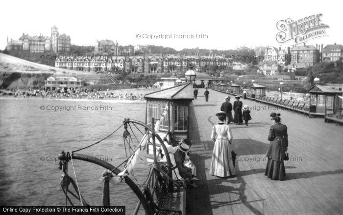 Boscombe, The Pier 1908