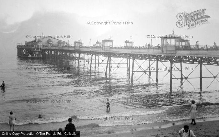 Boscombe, The Pier 1931