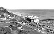 Boscombe, the Pier c1955