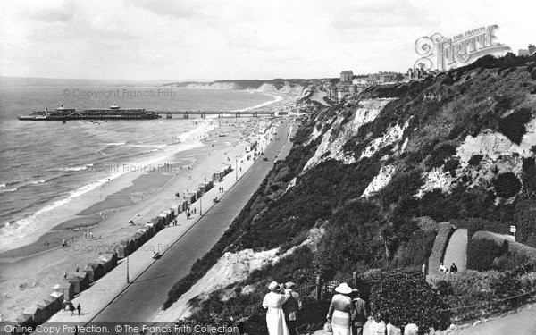 Boscombe, View From Zig Zag Path 1922
