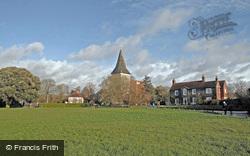 Church And Green c.1995, Bosham