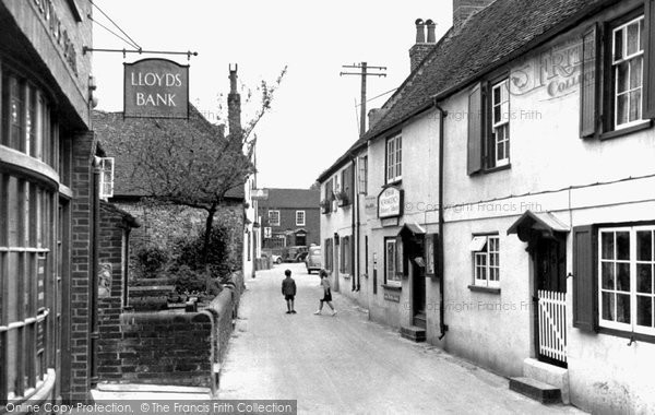 Bosham, High Street c.1955