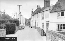 Bosham, High Street, Old Bosham c.1955