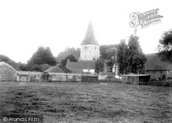 Bosham, Holy Trinity Church 1901