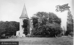 Bosham, Holy Trinity Church 1965