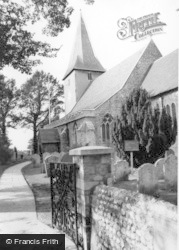 Bosham, Holy Trinity Church c.1960