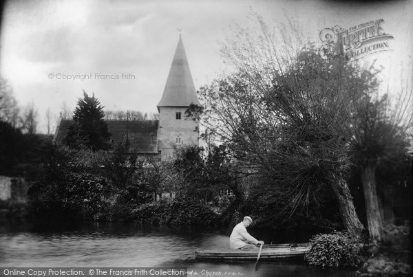 Bosham, Mill Pond And Holy Trinity Church 1903