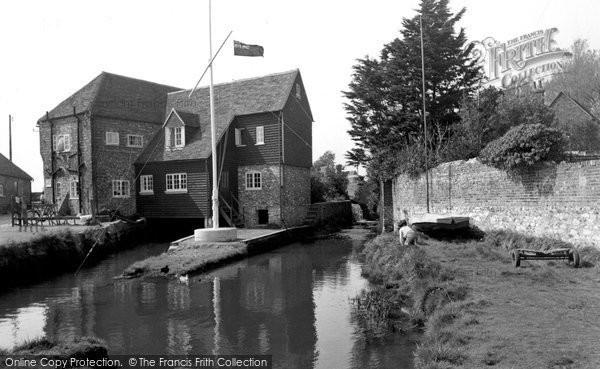 Bosham,Old Mill c1965,Sussex