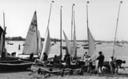 Bosham, Preparing For The Races c.1960