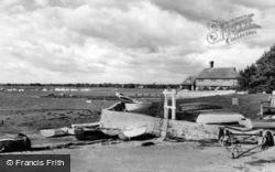 Bosham, Quay Meadow And Creek c.1960