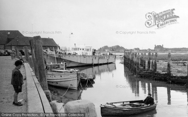 Bosham, Quayside c.1955