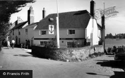 Bosham, The Anchor Bleu, Old Bosham c.1965
