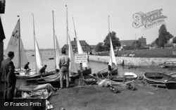 Bosham, The Dinghy Park c.1960