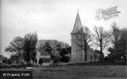 Bosham, The Green And Holy Trinity Church c.1955