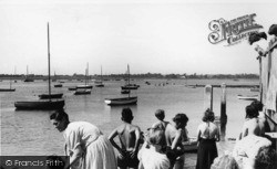 Bosham, The Harbour c.1955