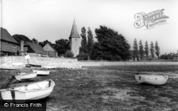 Bosham, The Quay And Holy Trinity Church 1965