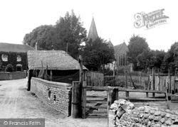 Bosham, The Village And Holy Trinity Church 1902