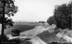 Bosham, View From Southwood Farm c.1955
