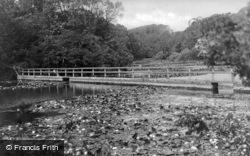 Bridge Over Lily Pools c.1950, Bosherston