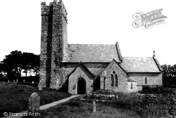 Bosherston, St Michael's Church c.1955