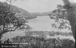 Bosherston, The Lily Pools c.1950