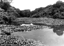 Bosherston, The Lily Pools c.1955