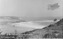 Bosherston, The Sands, Broad Haven c.1955