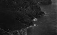 Bossiney, Cove And Lye Rock 1920