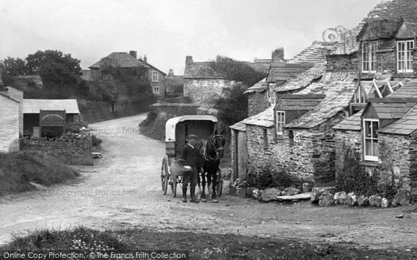 Bossiney, Delivery In The Village 1920