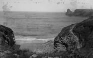 Bossiney, Rocky Valley Bay 1894