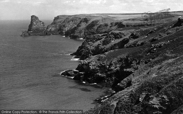 Bossiney, The Cove c.1955