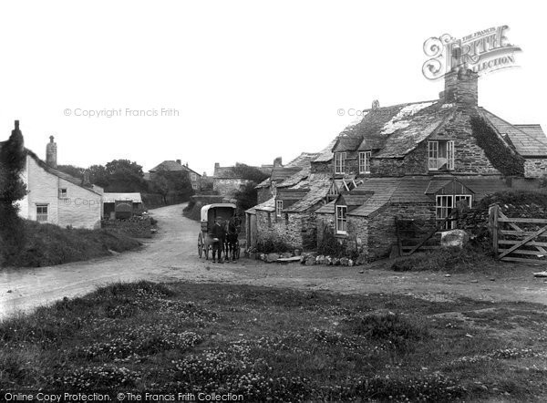 Photo of Bossiney, the Village 1920, ref. 69653