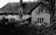 Bossington, A Thatched Cottage c.1935