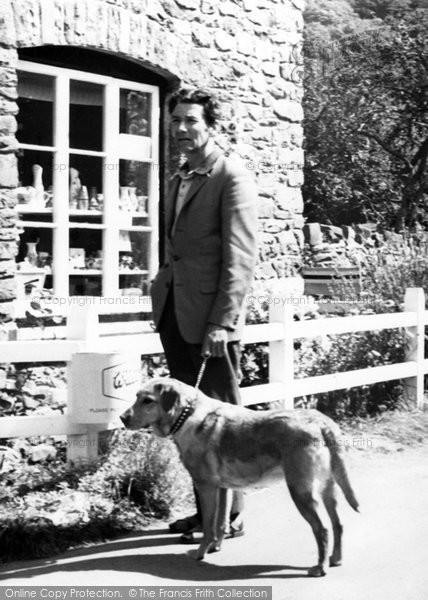 Bossington, Going Shopping c.1965