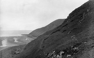 Bossington, Hurlstone Point 1927