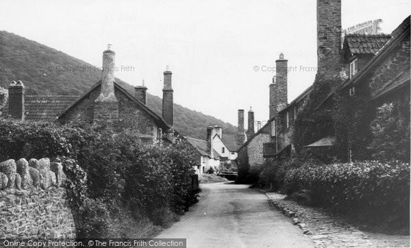 Bossington, Tall Chimneys c.1955