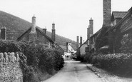 Bossington, Tall Chimneys c.1955