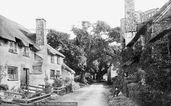 Bossington, The Village 1890