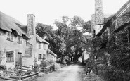 Bossington, The Village 1890
