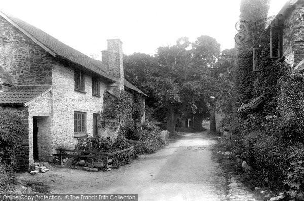 Bossington, The Village 1901