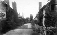 Bossington, The Village 1901