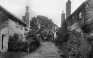 Bossington, The Village 1931