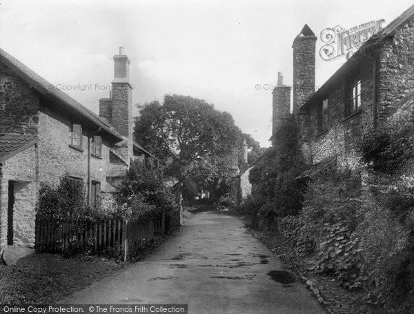 Photo of Bossington, the Village 1931, ref. 84860