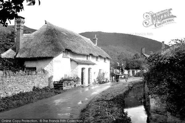 Bossington, The Village 1931